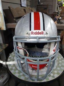 2013 Ohio State Buckeyes Football Riddell Game Used Worn Helmet