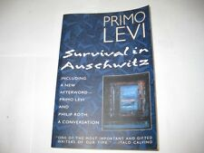 Survival In Auschwitz by Primo Levi HOLOCAUST
