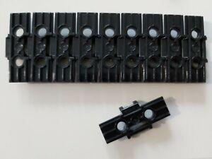 Lego  10x Kettenglied Kette schwarz 57518