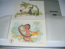The Jungle Book 2x Disney Ltd Edition Lithographs Frank Thomas & Ollie Johnston