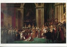 CARTE POSTALE ART TABLEAU /  ILLUSTRATEUR / LOUIS DAVID / LE SACRE DE NAPOLEON 1
