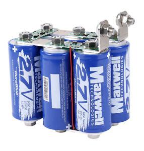Maxwell 16V 500F super capacitor Car start solar/audio capacitor power bank 6pcs