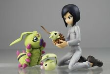 Megahouse GEM model Digimon Ken and Wormmon pvc figure