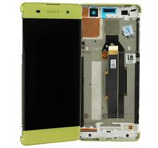 Original Sony Xperia XA F3111 F3112 LCD Display Touchscreen & Rahmen Lime Gold