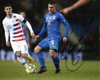 Foto Autografo Calcio Marco Verratti Asta di Beneficenza Soccer Signed Sport