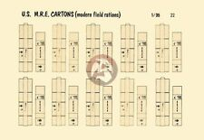 Verlinden 1/35 U.S. Army Meal Ready-to-Eat MRE Cartons (Modern Field Rations) 22