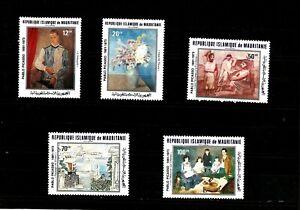 Pablo Picasso,birth centenary Republic Mauritanie  ,1981.Paintings.MNH