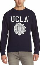 UCLA Lauther Mens Sweatshirt with Large Logo Navy UCSW1414 Sizes: XS - XXL