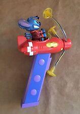 Stitch in Spaceship Light up Spinner Disney Vintage Walt World parade Lilo &