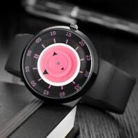 2017 Fashion Men's Unisex Luxury Stainless Steel Analog Quartz Sport Wrist Watch