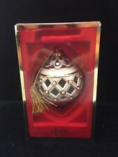 Lenox 2013 Florentine And Pearl Ball Ornament - New In Box