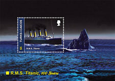 Titanic 100th Anniversary Stamp Souvenir Sheet - Turks & Caicos Islands