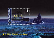 Titanic 100th Anniversary Stamp Souvenir Sheet - Turks & Caicos Islands