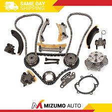 Timing Chain Kit Water Pump Fit 04-06 Buick Cadillac SRX STS CTS Saab Suzuki 3.6