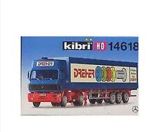 Kibri 14618 MB SK 2 ejes Unidad tractora con 3-eje Maleta nuevo y emb. orig.