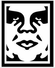 """Obey Giant Face Decal 26"""" Huge Wall Art Sticker Vinyl Car Truck SUV"""