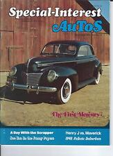 SPECIAL INTEREST AUTO -SIA 23, The First Mercury 1939, 1848 DeSoto, Henry J ++++