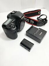 CANON EOS 7D 18MP DIGITAL SLR CAMERA BODY