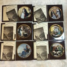 Knowles Rockwells Colonials Series Rare Collector Plates Set Of 8