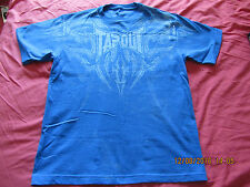 "Blue ""Tapout"" UFC/MMA Womens Short Sleeved Tshirt - Size XL (12/14) - BNWOT!!"