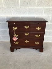 STATTON PRIVATE COLLECTION OLD TOWNE CHIPPENDALE STYLE 3 DRAWER BACHELOR CHEST