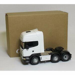 Oxford Diecast 1:50 CR026 Cararama Scania R Topline Cab Tractor Unit White