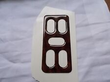 WOOD EFFECT window switch cover  SAAB 900 CONVERTIBLE CLASSIC TURBO 4 switches