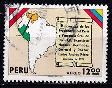 PERU  JAAR 1976 AEREO NR. Y&T 439 ° (L11)