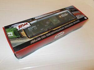 ATLAS HO EVANS 53' DOUBLE PLUG DOOR BOXCAR (BC RAIL) # 800472,RARE