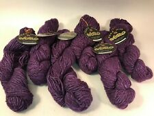 New ListingNew Noro Cash Iroha Yarn 5 Skeins Color 24 Purple silk, wool, cashmere, Same Lot