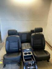 2015 GMC SIERRA DENALI SEAT SET COMPLETE INTERIOR CREW CAB 1500