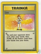 Base Set Pokemon Card - Trainer Lass- # 75/102 - Mint - Never Played