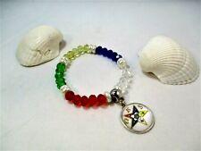 OES Bracelet, One of a Kind OES Jewelry, Eastern Star Jewelry