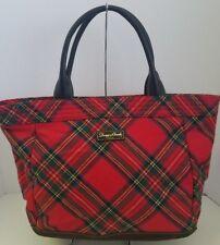Dooney & Bourke Red Tartan Plaid Handbag