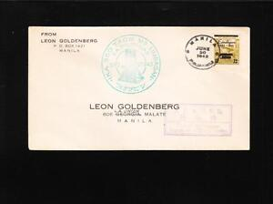 WWII Philippines Japan Occupied 1943 Military Censor 350 Years Limbagnan z86