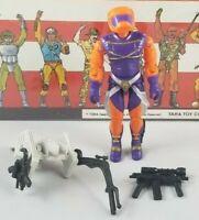 Original 1989 GI JOE ANNIHILATOR V1 ARAH not complete UNBROKEN figure Cobra