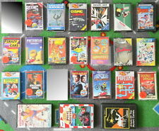 Nice COLLECTION of 22 COMMODORE 64 TAPE GAMES. Original cassettes