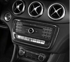 Passend zu Mercedes Benz A GLA CLA Radioblende Zierblende Rahmen Carbon