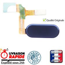 Honor 9 Bouton d'accueil capteur d'empreinte - Home Button flex fingerprint Bleu