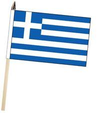 More details for greece large hand waving courtesy flag