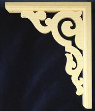 "L&G Victorian Gingerbread Fretwork Porch Trim Bracket 12"""
