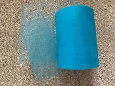 10m of 150mm Wide Soft Nylon Peach Tulle Netting Fabric Wedding//Tutu//Crafts