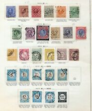 NETHERLANDS 1872/1906 M&U On Old Pages(Apprx 55 Items) ZZ43