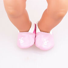 pink 1set Doll shoes wear for 43cm Baby Born zapf (only sell shoes ) B688