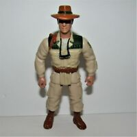 "Vintage Jurassic Park The Lost World Eddie Carr 4"" Action Figure (Hasbro, 1997)"