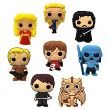 Game Of Thrones GoT Shoe Charms Cup Cake Toppers Party Favours 8pcs