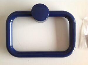 Blue Plastic Towel Holder, Towel Hoop, Towel Hook, Bathroom Towel Holder,