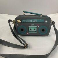 Disney Store The Lodge Handbag My Amazing Life B-side Casset Player Satchel