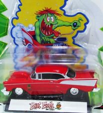 RACING CHAMPIONS 57 1957 CHEVY BEL AIR RAT FINK ED ROTH BIG DADDY CHEVROLET CAR