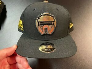 Youth New Era Star Wars Rogue One Storm Trooper 9FIFTY Snapback Adj baseball cap